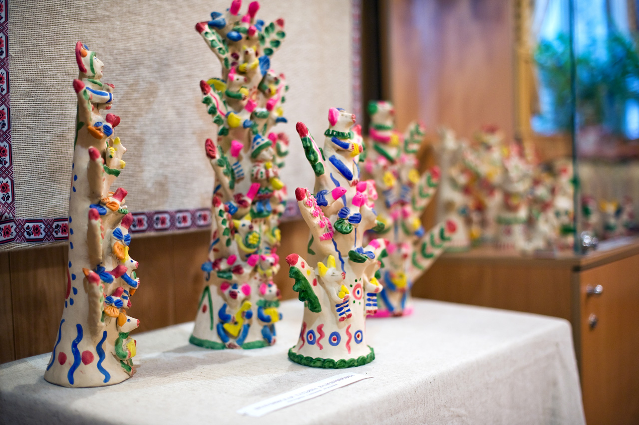 глиняная игрушка горница дом мастеров Калуга