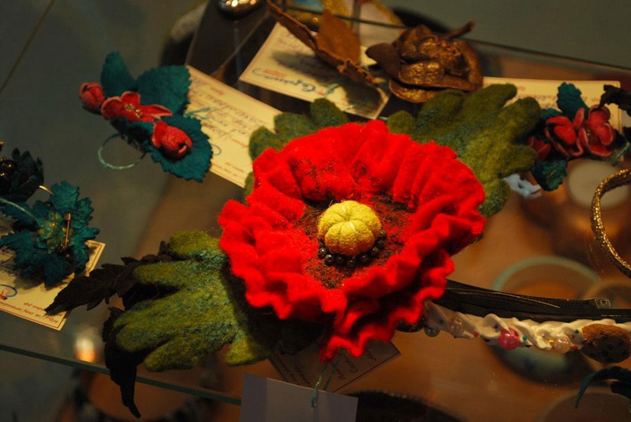 Цветы из шерсти Дом мастеров Калуга