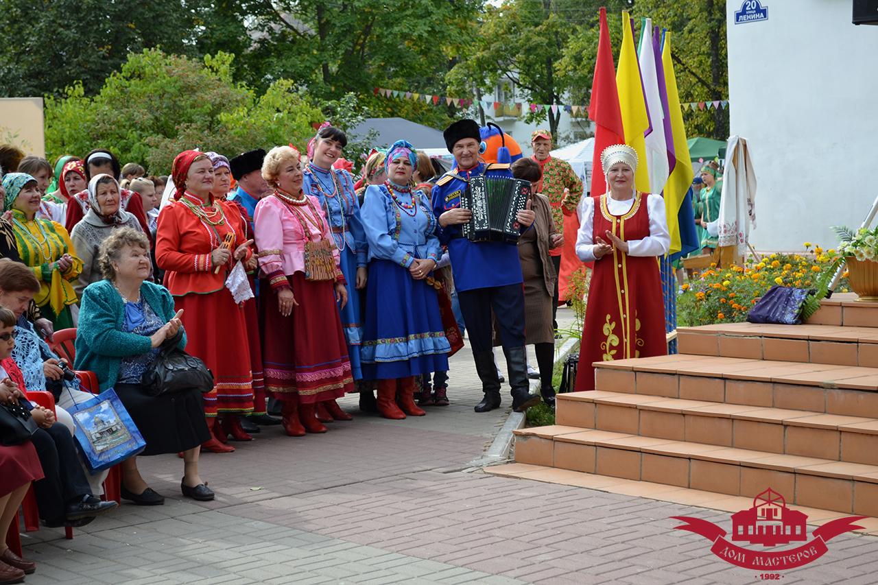 Хлуднево Калуга Дом мастеров Калужская тальянка