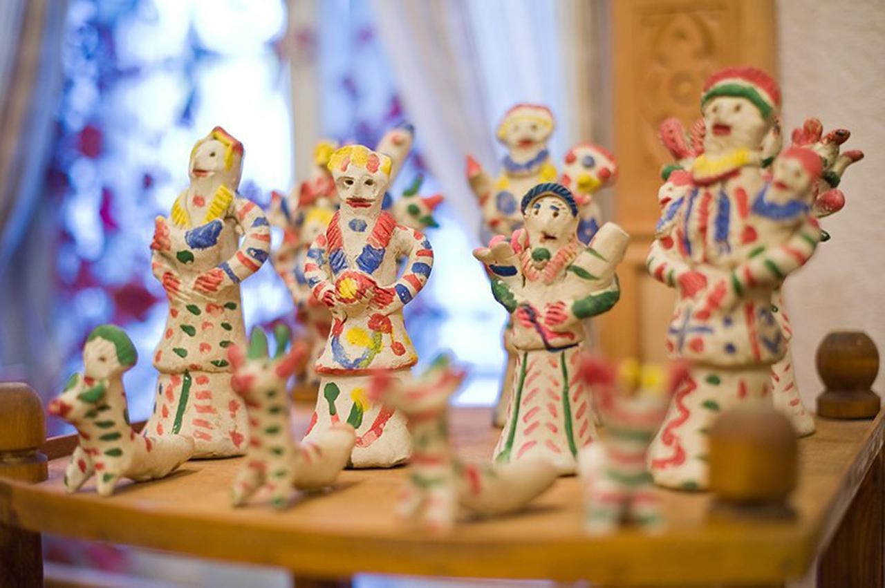 Хлуднево Калуга Дом мастеров Выставка
