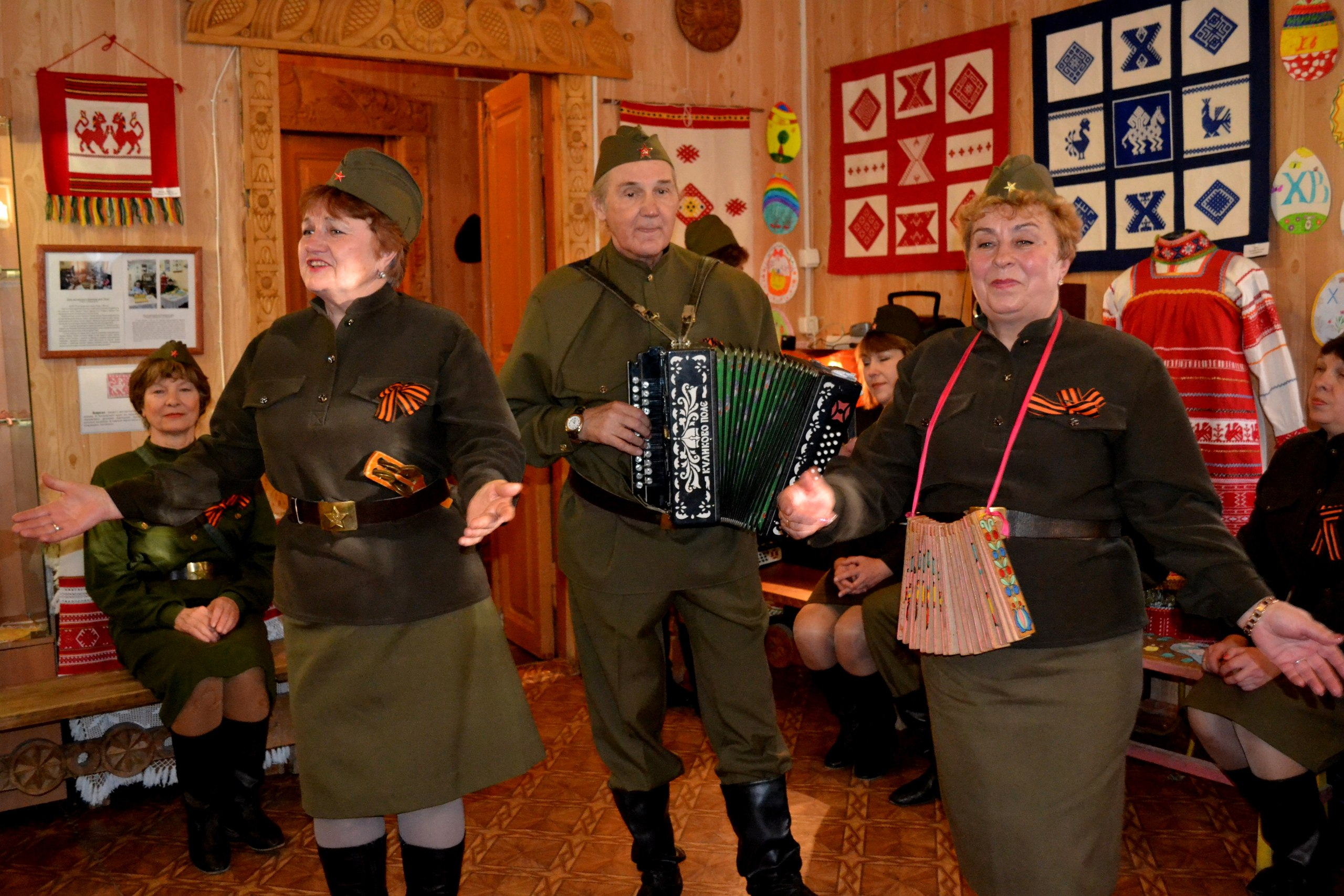 День Победы Дом мастеров Калуга Калужская тальянка