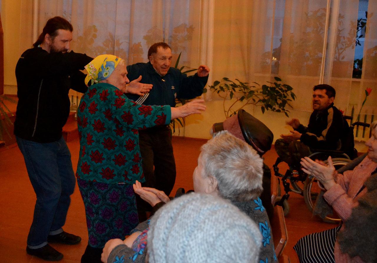Тальянка дом престарелых