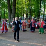 Тальянка на Фестивале им. Лупандиной