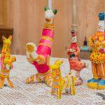 Роспись филимоновской игрушки