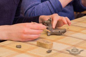 Процесс создания игрушки