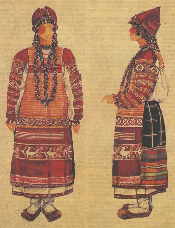 Статьи о традиционном калужском костюме