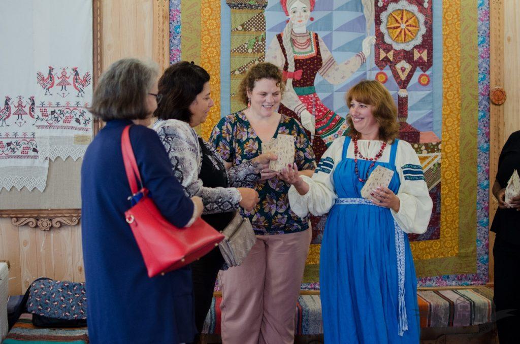 Дом мастеров принимает иностранных гостей